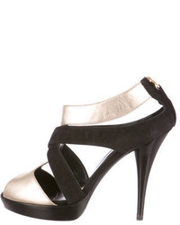 Fendi Suede Leather Sandals
