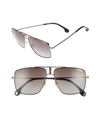 Carrera Eyewear Carrera 60mm Aviator Sunglasses