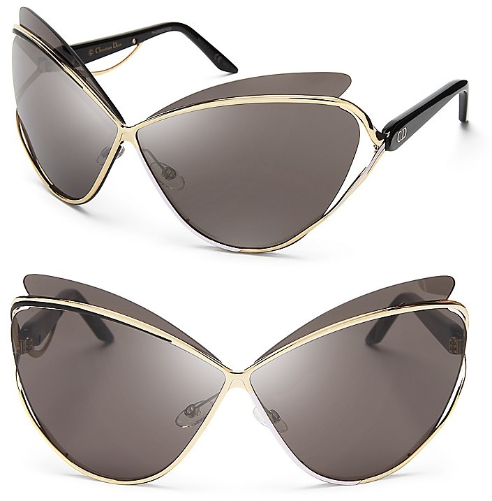 61a119fbdd9 Christian dior audacieuse metal cat eye sunglasses where jpg 705x717 Dior  cat eye sunglasses