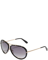 Tom Ford Cyrille Aviator Sunglasses Blackgray