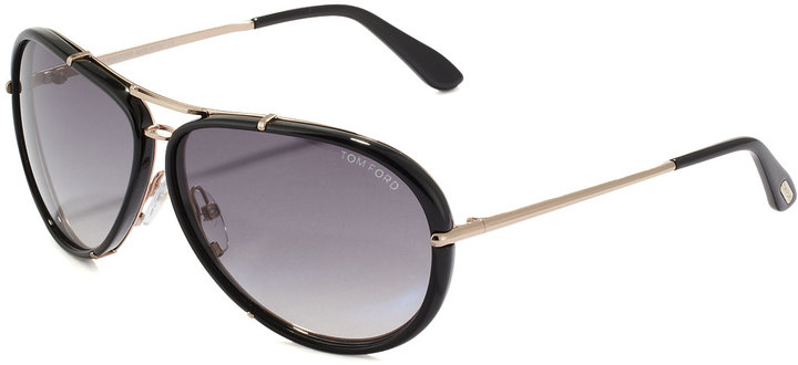 1e503d11329 ... Black and Gold Sunglasses Tom Ford Cyrille Aviator Sunglasses Blackgray  ...