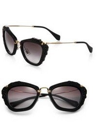 Miu Miu Embellished 55mm Cats Eye Sunglasses