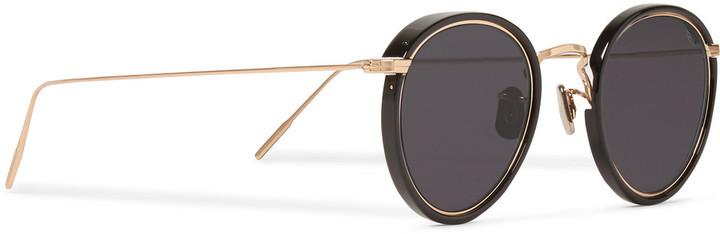 Eyevan Round And Frame Metal Acetate 7285 Sunglasses535Mr F3lcT1JuK5