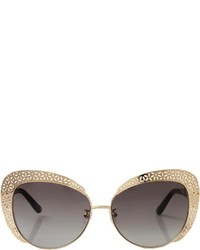 Oscar de la Renta Floral Cat Eye Sunglasses