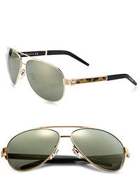 Roberto Cavalli Gorgenea 62mm Aviator Sunglasses