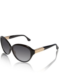 David Yurman Metal Chevron Butterfly Sunglasses