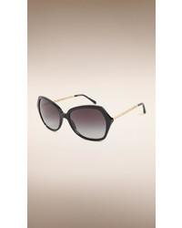 Burberry Oversize Square Frame Sunglasses
