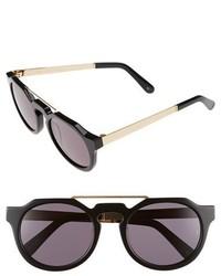 Sunday Somewhere Heeyeh 51mm Angular Sunglasses Black