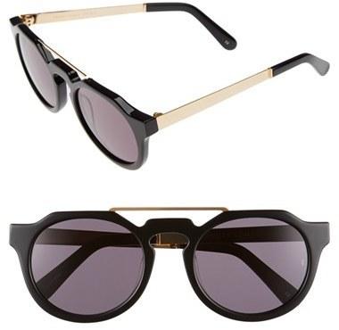 ... Sunday Somewhere Heeyeh 51mm Angular Sunglasses Metallic Silver ...