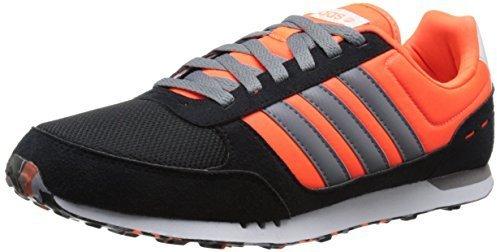 Adidas Neo Negras Y Naranjas