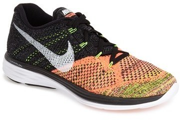 size 40 78ff8 6009e ... Black and Orange Athletic Shoes Nike Flyknit Lunar 3 Running Shoe ...