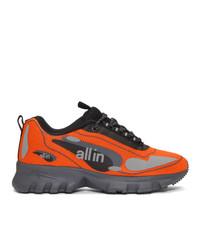 all in Orange Astro Sneakers