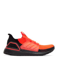 adidas Originals Red Ultraboost 19 Sneakers