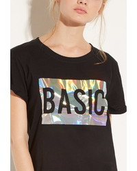 Forever 21 Local Heroes Basic Holo Tee