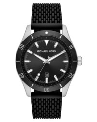 Michael Kors Layton Silicone Watch