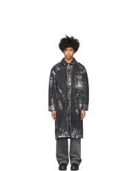 Tanaka Black And Silver Jean Coat