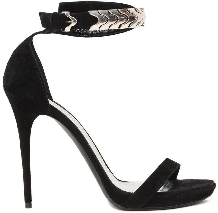Alexander McQueen Leather Ankle Strap Sandals discount visa payment cheap visit sale the cheapest EWQK1LCHPf