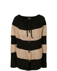 Vivienne Westwood Anglomania Stripe Panelled Cardigan