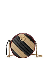 Gucci Mini Gg Marmont 20 Matelasse Leather Shoulder Bag