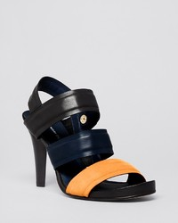 Derek Lam 10 Crosby Open Toe Platform Sandals Fennel High Heel