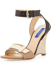 Dee Keller Andy Ankle Strap Wedge Sandal