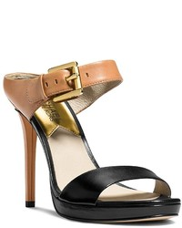 MICHAEL Michael Kors Michl Michl Kors Mule Sandals Beverly Buckled Colorblock