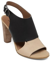 Lucky Brand Open Toe Slingback Sandals Lotta High Heel