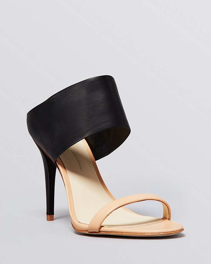 5c6310ffb62 ... AERIN Rin Open Toe Slide Sandals Larissa High Heel ...