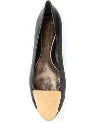 Alexander McQueen Toe Cap Slippers