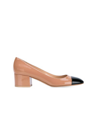 Gianvito Rossi Contrast Toe Cap Pumps