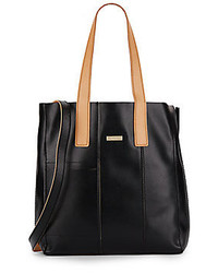 Colette Textured Leather Tote