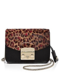 Furla Metropolis Mini Calf Hair Crossbody