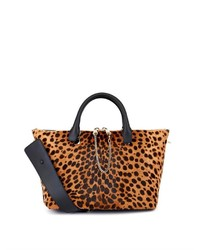Chloé Baylee Calf Hair And Leather Tote