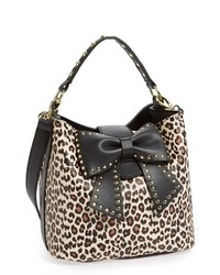 Betsey Johnson Betsy Johnson Bucket Bag Leopard