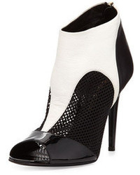 Black and white ankle boots original 9657977