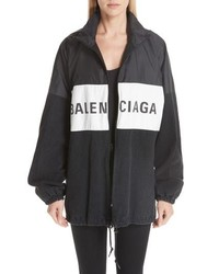 Balenciaga Denim Panel Jacket