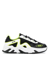 MSGM Attack Low Top Sneakers