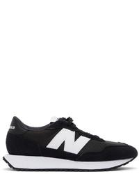 New Balance Black 237 Sneakers