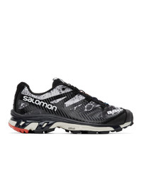 Salomon Black And Grey Limited Edition Xt 4 Adv Sneakers
