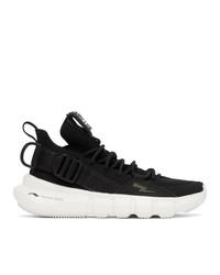 Neil Barrett Black And White Li Ning Edition Essence 23 Sneakers
