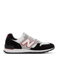 Junya Watanabe Black And White New Balance Edition 670 Sneakers