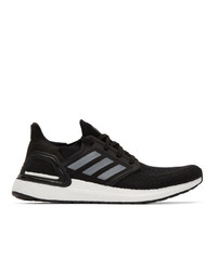 adidas Originals Black And White Ultraboost 20 Sneakers