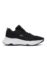 Lacoste Black Court Drive Fly Trainer Sneakers