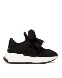 MM6 MAISON MARGIELA Black Flare Sneakers