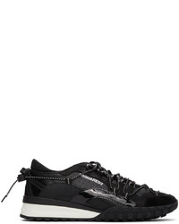DSQUARED2 Black Legend Low Top Sneakers