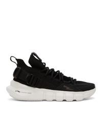 Neil Barrett Black Li Ning Edition Bolt Essence 23 Sneakers