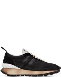 Lanvin Black Nylon Bumpr Sneakers