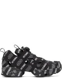 Vetements Black Reebok Edition Star Wars Instapump Fury Sneakers