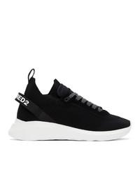 DSQUARED2 Black Speedster Sneakers