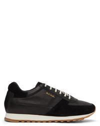 Paul Smith Black Velo Sneakers